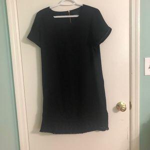 Cynthia Rowley Black Short Sleeve Dress
